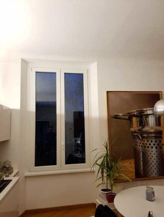 porta-finestra in alluminio